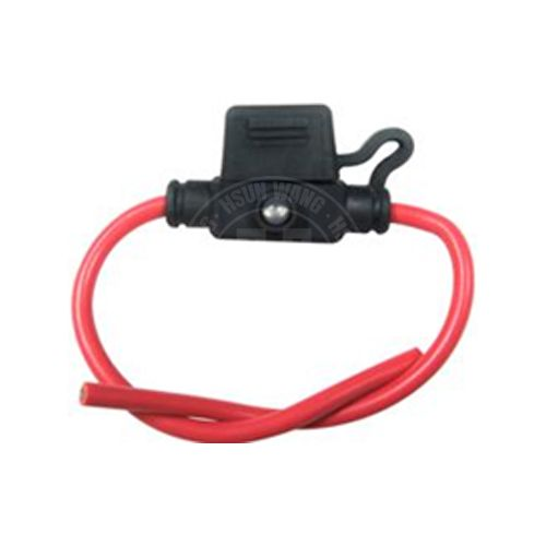 In-line mini fuse holder with LED warning light Item No: AUEL0004