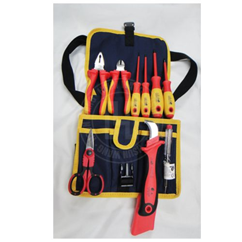 9PCE VDE Safety Pliers Set with Nylon Bag Item No: PLPS0003